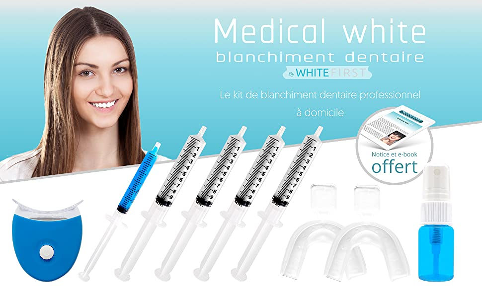 blanchissement dentaire;kit blanchiment dentaire;gel blanchiment dentaire