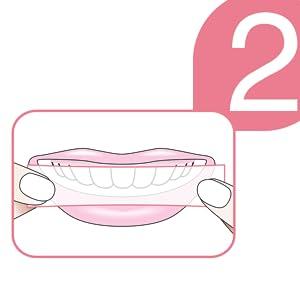 bandelettes blanchiment dents ; bandelettes dents blanches ; bande blanchissante