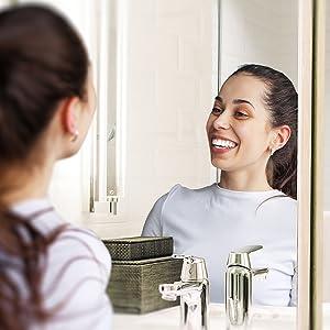 blanchir ses dents;blanchisseur de dents;dentifrice blancheur;teeth whitening gel;miroir dentiste