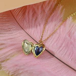 Soufeel Collier Coeur Prenom Personnalisable Pendentif M/édaillon Porte Photo /à Ouvrir Plaqu/é Or Argent Cadeau Maman Femme Fille Anniversaire