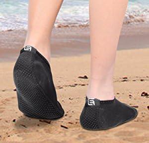 acb88b79a9801 ECO-FUSED Chaussettes d'eau pour Les Femmes - Confort supplémentaire ...