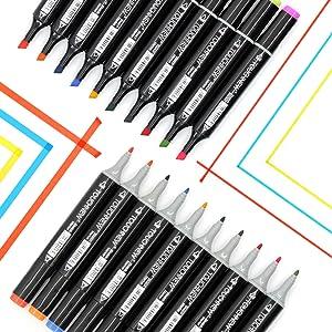 Design avec Sac Noir Pour Adultes Enfants Jeu Croquis Dessins Animés Peinture