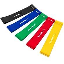tube d \ 'entraînement barre femmes muscle loop caoutchouc maison mini nylon corde du couleur elingue
