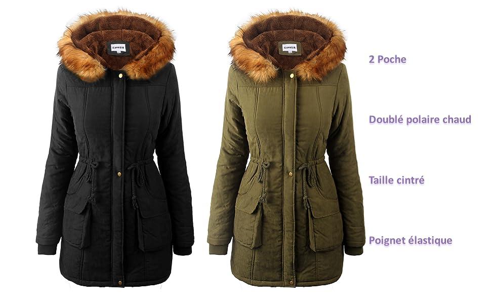 38c471d9ea228 Vous allez apprécier l hiver dans ce manteau chaud et confortable. Sa forme  indémodable est idéale pour celles qui recherchent une veste chic et  féminine.