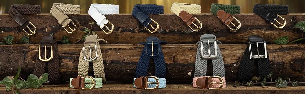 50 mm bleu clair taille ceinture 40 pouces de long élastique extensible bracelet