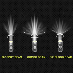 AAIWA La Barre Lumineuse LED 5 Pouces 84W a Men/é des Cosses L/ég/ères de Travail de Faisceau