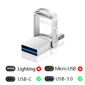 Clé USB C