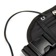 f84a4ad099a0 ceinture de voyage argent banane accessoires de voyage de course à pied pochette  cache billets