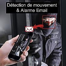 Détection de mouvement&Alarme Email