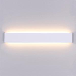 Salon Ac Led Lampe Escalier Chaud Interieur Applique Moderne Acrylique 40cm Couloir Yafido Pour 220v Murale Blanc Chambre 14w PnwO0k
