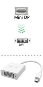 adattatore mini displayport a dvi thunderbolt dvi microsoft surface pro 6 adattatore dvi adattatore mac