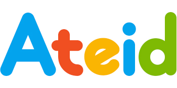 Logo d'Ateid en 5 couleurs