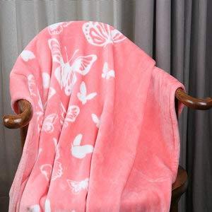 i-baby Couverture B/éb/é Polaire Plaid Enfant Fille Garcon Naissance 100x150 cm 4 Saisons Ch/âteau Fantastique