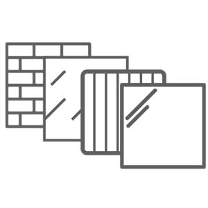 Format fil Handbürste acier S 2 lisse
