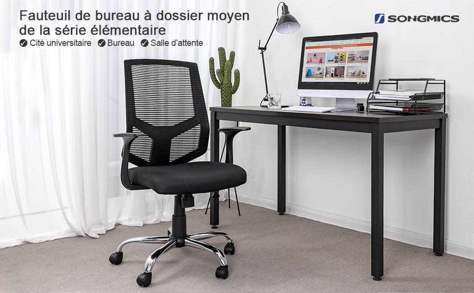 Extraordinaire petit bureau pas cherangle bois easy alinea noir