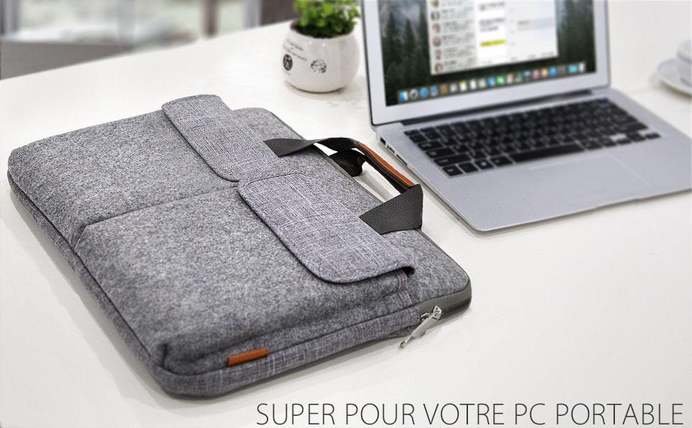 """Inateck Housse d'Ordinateur Portable 15,6"""""""