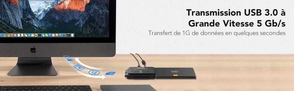 Transmission USB 3.0