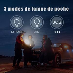 Flashlight modes