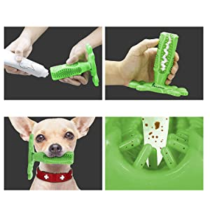 Toothbrushes for dogs