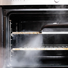 Meilleur nettoyeur vapeur Dupray pour le nettoyage d'appareils de cuisines, fours, comptoirs.