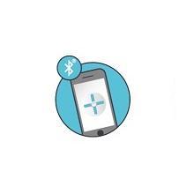 Robot piscine application smartphone