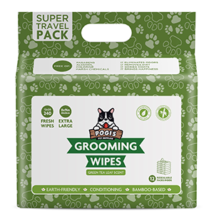 Pogi's grooming wipes travel pack 240