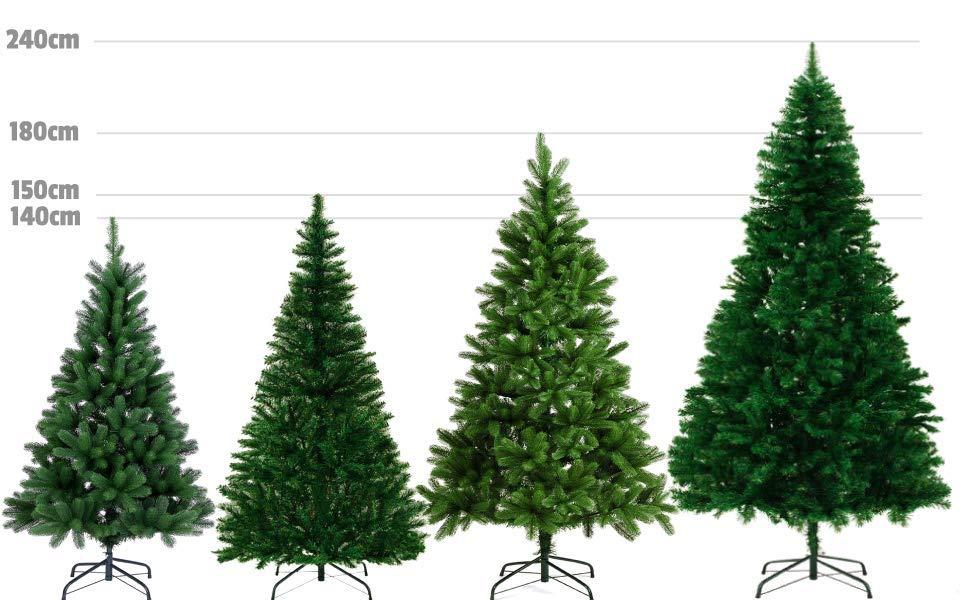 Sapins de noël arbres tailles et coloris disponible chez Deuba