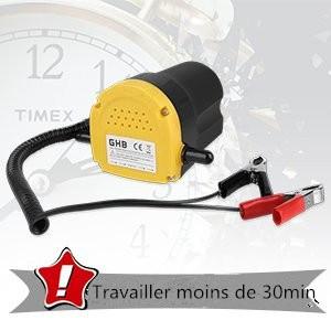 Extracteur de Changement de Pompe de R/éCup/éRation Par Aspiration dHuile WUPYI2018 Pompe Vidange Huile Moteur 12V 60W Pompe de Transfert dHuile