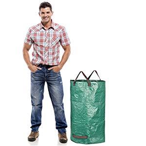 GardenMate 3x sacs de jardin 120L indéchirables