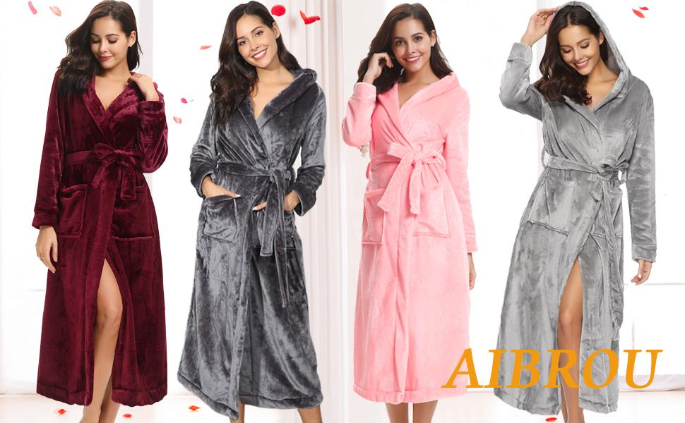 robes de chambre longue pour femme