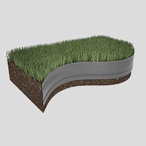 Installer la bordure de pelouse dans votre jardin est une opération très rapide et économique