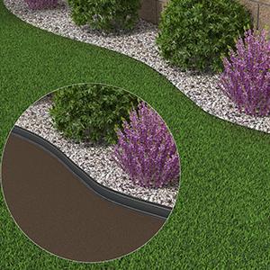 Elle est très facile à façonner, vous n´êtes donc pas limité dans l´aménagement de votre jardin