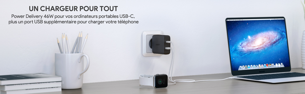 USB C Chargeur Mural