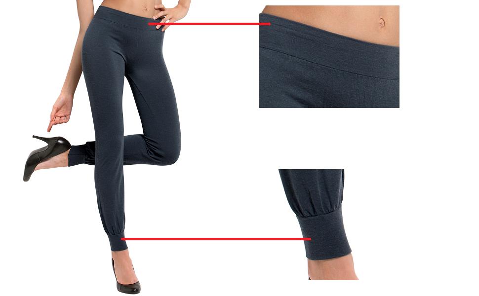 best website e7456 c6671 SENSI' Leggings Femme sans coutures Laine Angora Seamless ...
