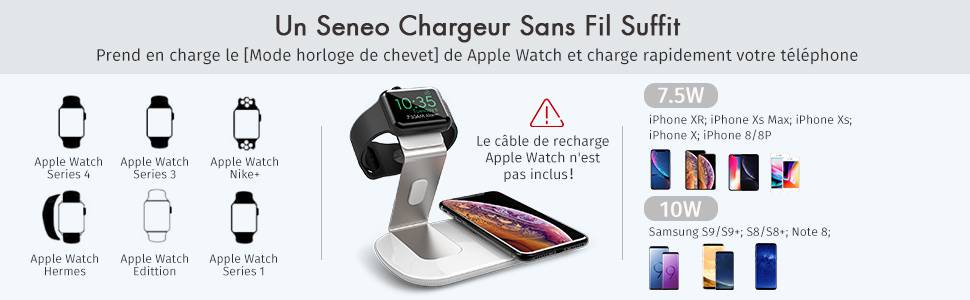chargeur induction pour iphone
