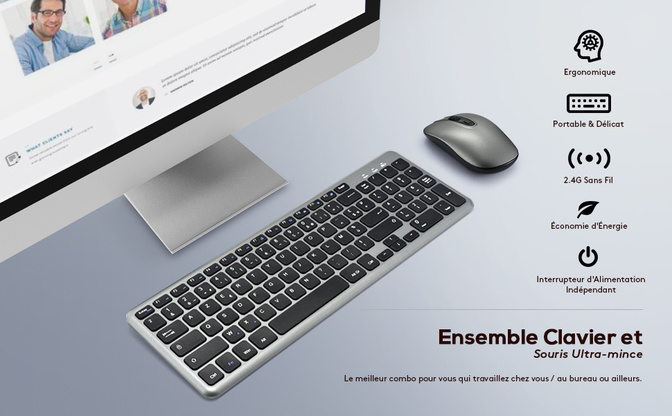 clavier souris