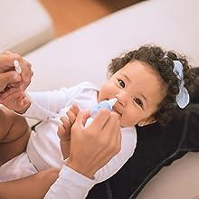 bubzi MEILLEUR DÉCONGESTIONNANT NASALE pour les sinus bouchés Mouche bébé Rhume pompe de nettoyage