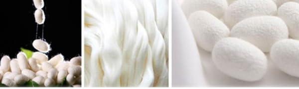 100% seta naturale di alta qualità, seta satinata.