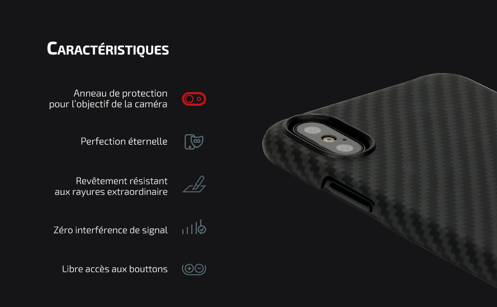 e1154bdf6670 pitaka Coque Compatible avec iPhone X 5.8