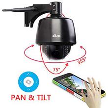 ZILNK Caméra de Surveillance extérieure Zoom panoramique 1080P-220 (1)