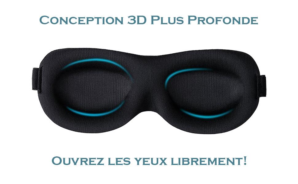Bleu clair+Rose rouge 2 Pi/èces Masque pour Les Yeux de Sommeil 2pcs Homme Femme Enfant 3D Masque pour les Yeux Anti-Fatigue Soie Masque Voyage Utilisation Unisexe