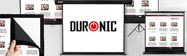 Gamme d'écrans de projection Duronic