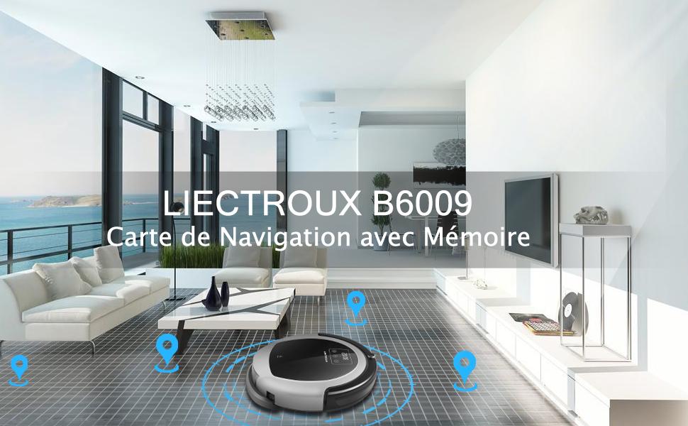Liectroux B6009 Robot Aspirateur Buy Robot Aspirateur