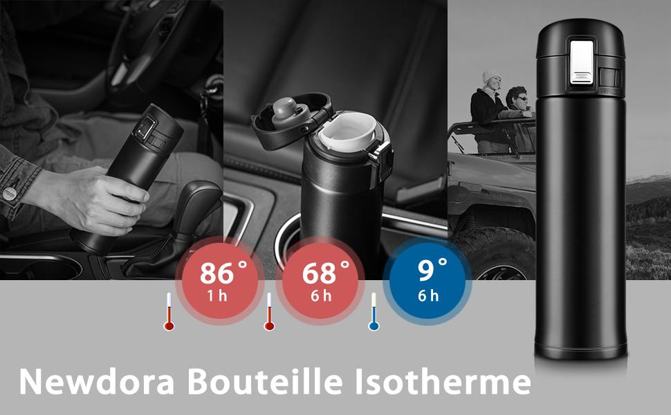Inoxydable500ml Bouteille Newdora Isotherme Acier En txhrdsCQ