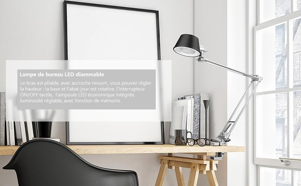 Le lighting ever lampe de bureau led lampe de bureau architecte