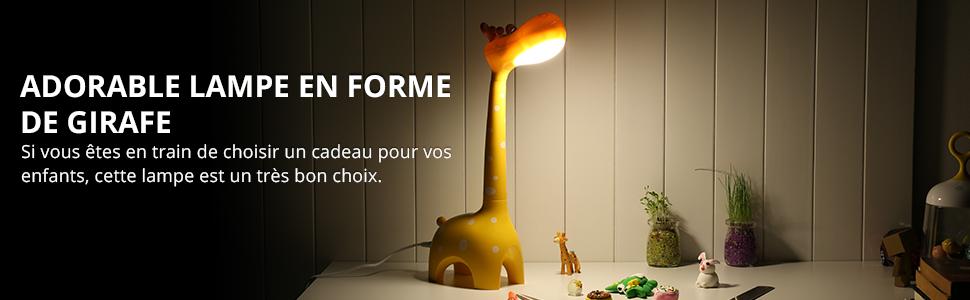 Lighting EVER Lampe de Table LED 3 Températures de Couleur