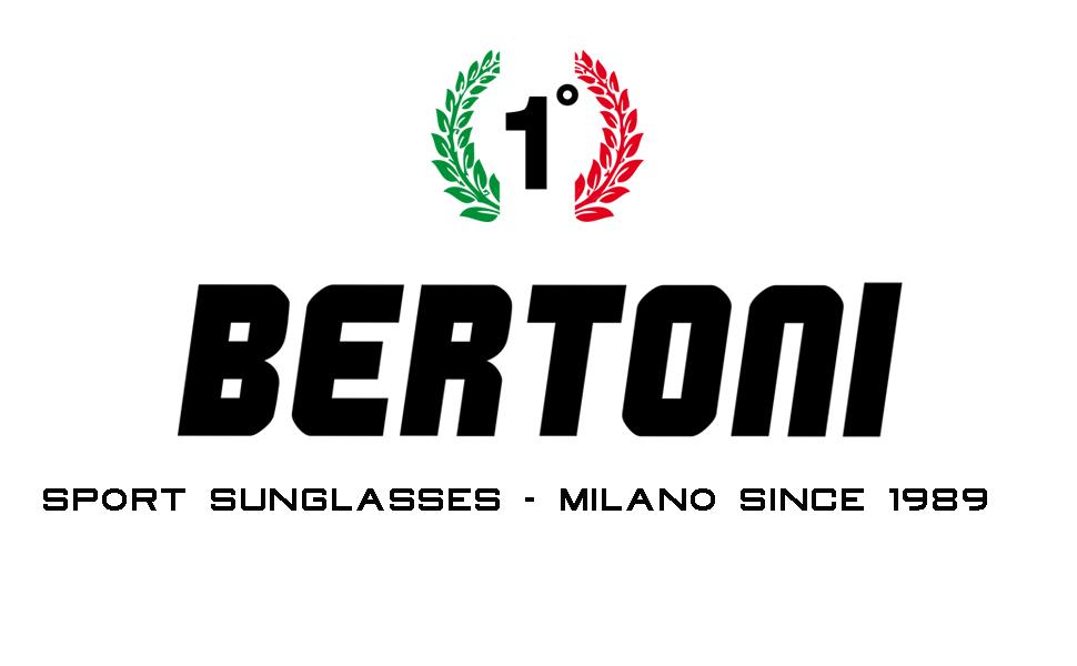 BERTONI Lunettes de Sport Extr/êmes Enveloppantes Coupe-Vent Monture en TPX Flottante Insubmersible Antichoc pour Nautiques Cyclisme Course FT1000 by Italy