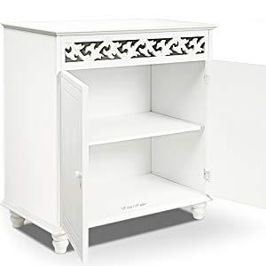 vidaXL Bois de Manguier Massif Buffet Commode Dressoir Armoire de Rangement Meuble de Rangement Salon Chambre Cuisine Int/érieure Maison