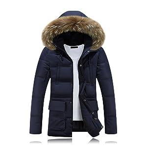 Parka Cotton Glestore Chaude D'hiver Homme En À Veste Manteau vww01PnZqA