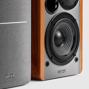 Edifier R1280T music sound audio bookshelf speakers RCA AUX control powerful bass audiophile